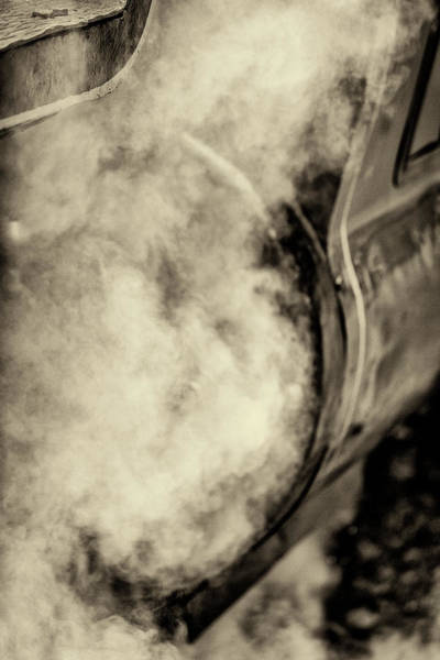 Photograph - Steam Train Series No 8 by Clare Bambers