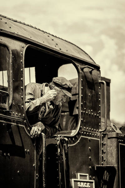 Photograph - Steam Train Series No 9 by Clare Bambers