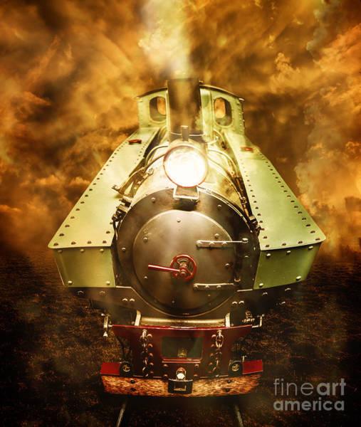 Wall Art - Photograph - Steam Train Stories by Jorgo Photography - Wall Art Gallery
