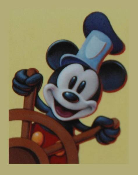 Walt Disney Word Photograph - Steamboat Willy by Rob Hans