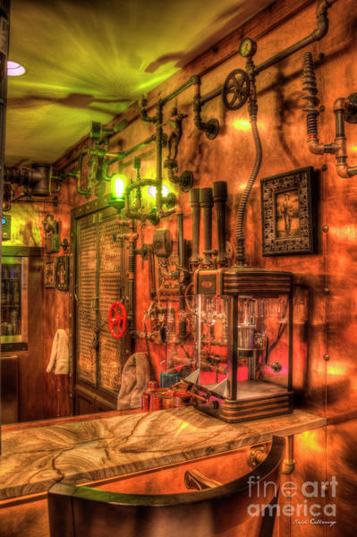 Photograph - Steampunk Architecture Atlanta Mancave Bar Art by Reid Callaway