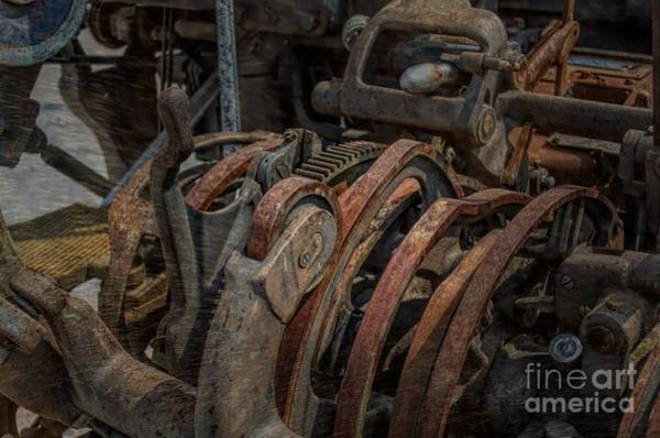Photograph - Steampunk Gears Wheels And Levers by Luther Fine Art