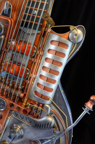 Photograph - Steampunk Guitar by Marianna Mills