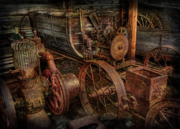 Photograph - Steampunk Storage by Doug Matthews