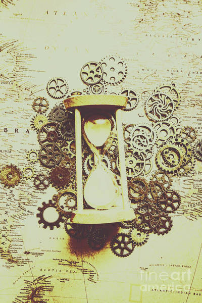 Mechanism Photograph - Steampunk Time by Jorgo Photography - Wall Art Gallery