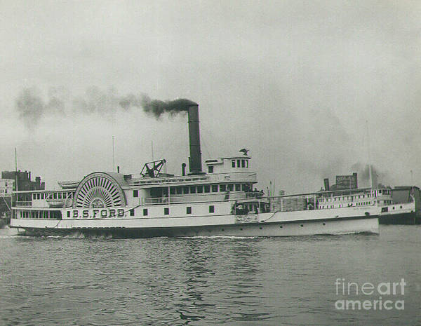 Wall Art - Photograph - Steamship B.s.ford by Skip Willits