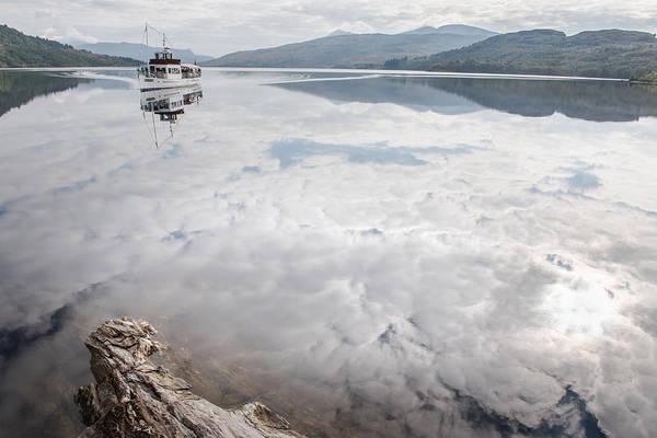 Photograph - Steamship Sir Walter Scott On Loch Katrine by Gary Eason