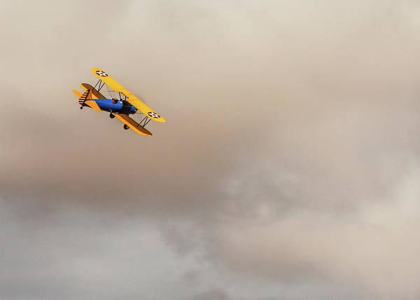 Photograph - Stearman 75 Kaydet Biplane by SR Green