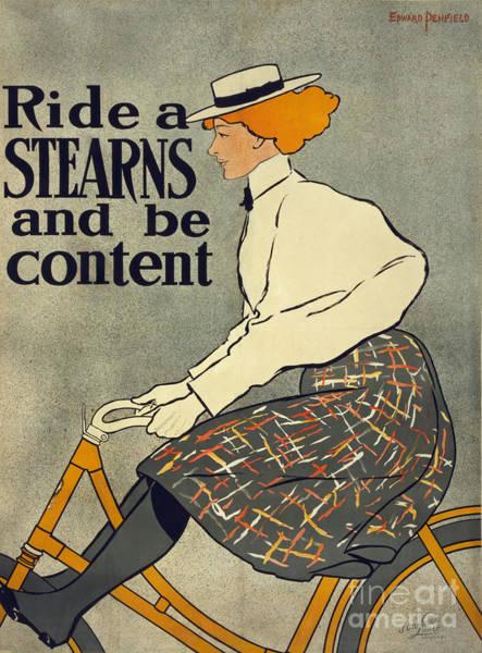 Photograph - Stearns Vintage Bike Advertisement Poster by Edward Fielding