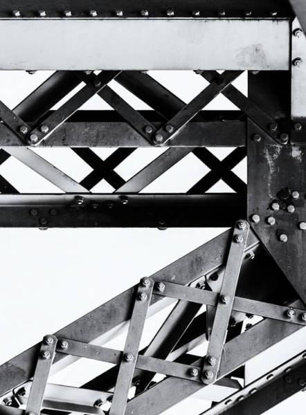 Steel Beams Wall Art - Photograph - Steel #4 by Adam Kilbourne
