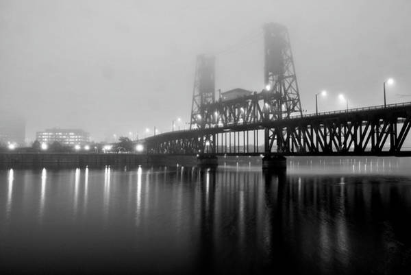 Portland Photograph - Steel Bridge by Brian Bonham