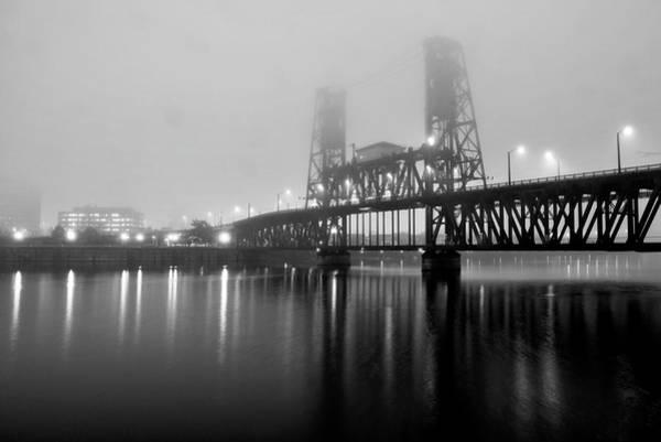 Photograph - Steel Bridge by Brian Bonham