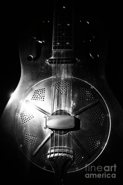 Wall Art - Photograph - Steel Drum Guitar 1 by Micah May