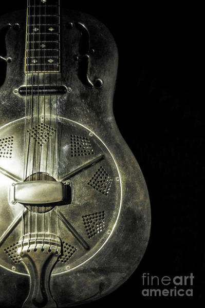 Wall Art - Photograph - Steel Drum Guitar 2 by Micah May