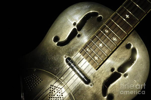 Wall Art - Photograph - Steel Drum Guitar 3 by Micah May