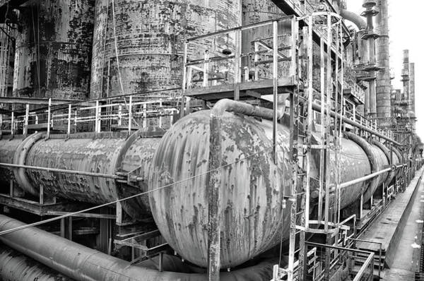 Photograph - Steel Industry - Bethlehem Steel by Bill Cannon