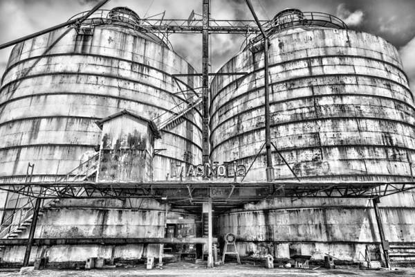 Grain Elevator Photograph - Steel Magnolia #3 by Stephen Stookey