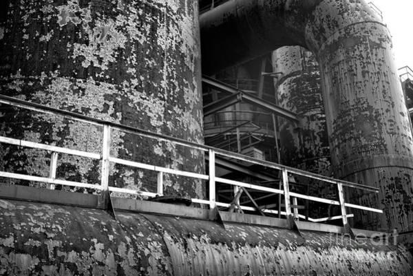 Wall Art - Photograph - Steel Mill Platform by John Rizzuto