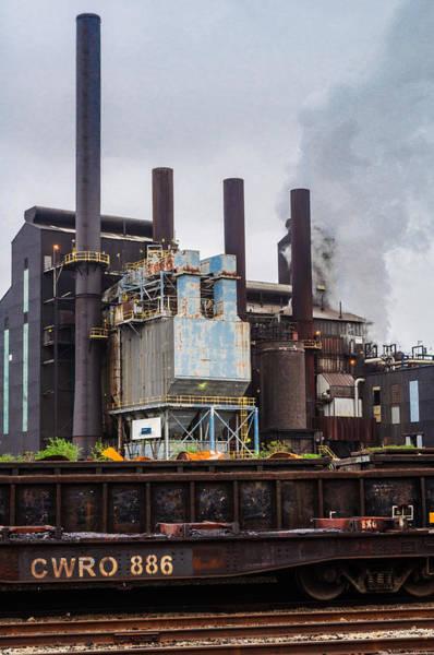 Photograph - Steel Mill by Stewart Helberg