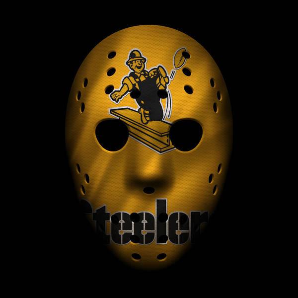 Wall Art - Photograph - Steelers War Mask 3 by Joe Hamilton