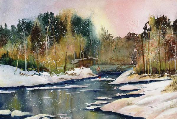 Painting - Steelhead Waters by Elaine Hoffman