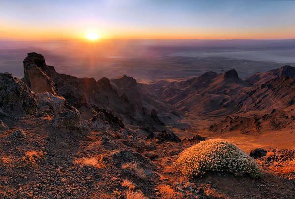 Basalt Photograph - Steens View by Leland D Howard