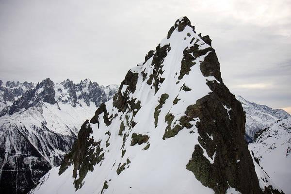 Photograph - Steep Mountain Chamonix France by Pierre Leclerc Photography