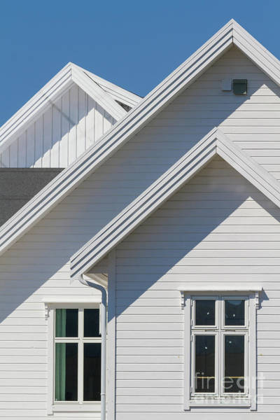 Photograph - Steep Roof And Window by Heiko Koehrer-Wagner