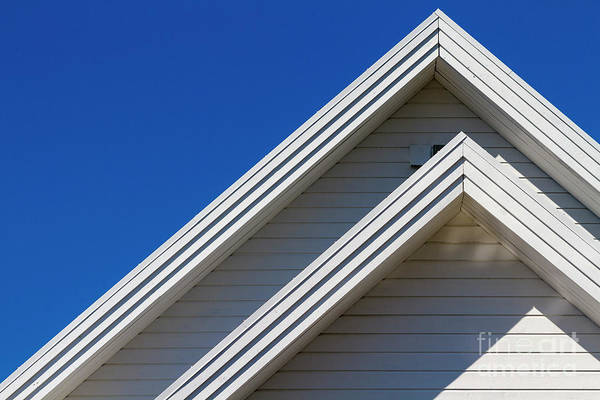 Photograph - Steep Roof Front by Heiko Koehrer-Wagner