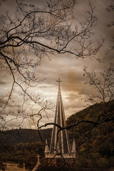 Steeple Of Time Art Print