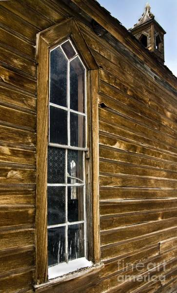 Photograph - Steeple Window Wall by Norman Andrus