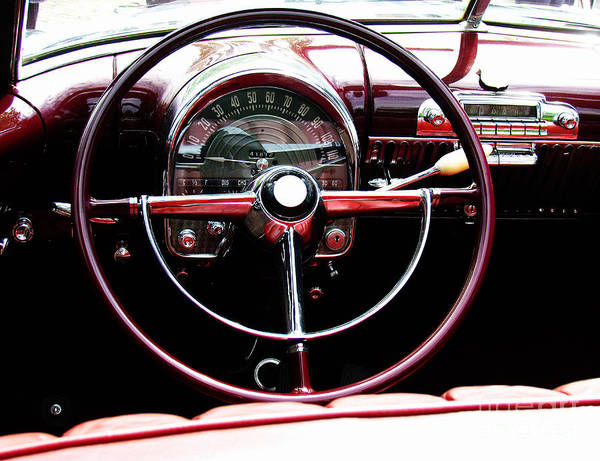 Photograph - Steering Wheel by Alexa Szlavics
