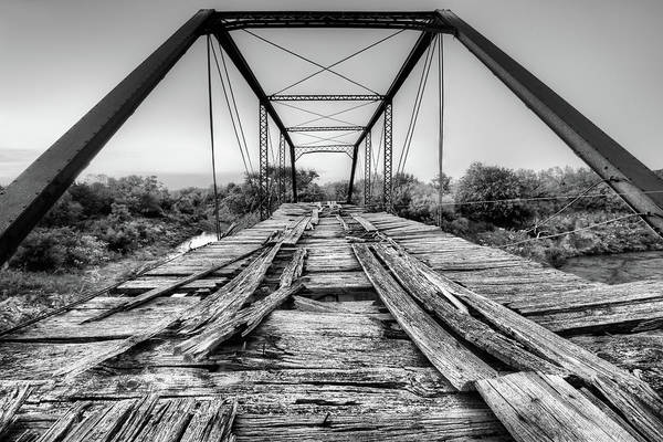 Wall Art - Photograph - Steinman Bridge Black And White by JC Findley
