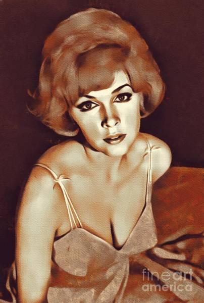 Steven Painting - Stella Stevens, Actress by Mary Bassett