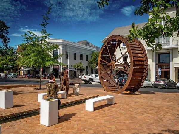 Wall Art - Photograph - Stellenbosch Water Wheel by Mike Walker