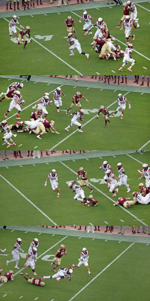 Vt Wall Art - Photograph - Step By Step College Football by Betsy Knapp