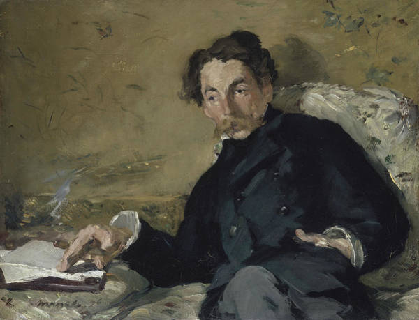 Painting - Stephane Mallarme by Edouard Manet