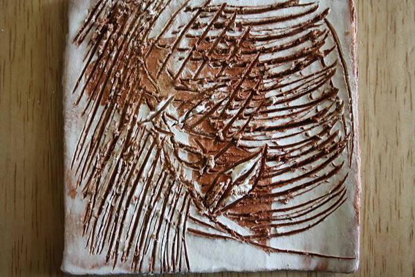 Ceramic Art - Stephen - Tile by Gloria Ssali