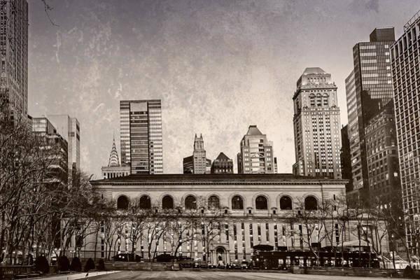 Photograph - Stephen A. Schwarzman Building - Nypl by Alison Frank