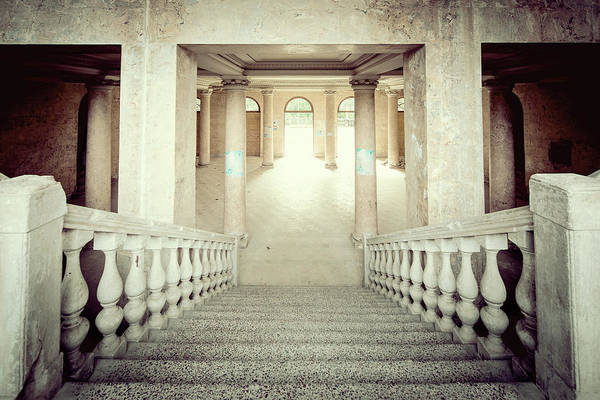 Wall Art - Photograph - Stepping Down To Hallway by Svetlana Sewell