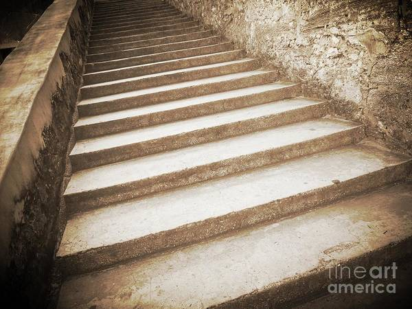 Photograph - Steps In Sepia by Carol Groenen