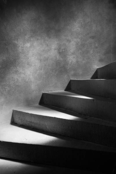 Contrast Wall Art - Photograph - Steps Of Light by Mark Seawell