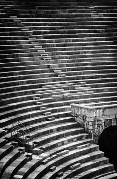 Wall Art - Photograph - Steps Of Verona Arena  by Carol Japp