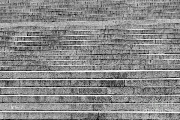 Photograph - Steps To The Lincoln Memorial by E B Schmidt