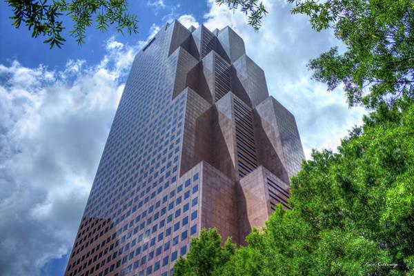 Photograph - Steps To The Sky Georgia Pacific World Headquarters Atlanta Ga Art by Reid Callaway