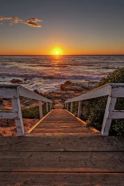 Wall Art - Photograph - Steps To The Sun  by Peter Tellone