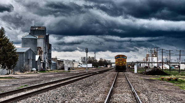 Photograph - Sterling Colorado Storms by Darren  White