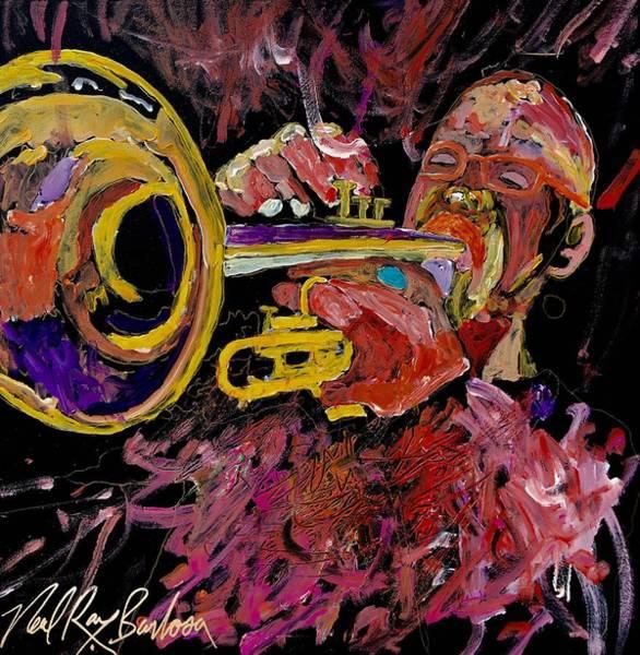 Painting - Steve Longs Celebration Of Life by Neal Barbosa