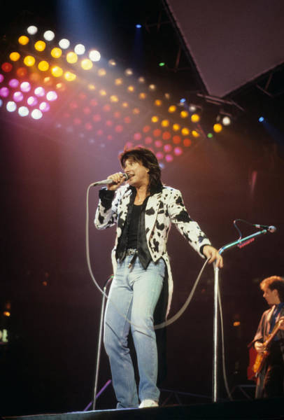 Photograph - Steve Perry Of Journey by Rich Fuscia