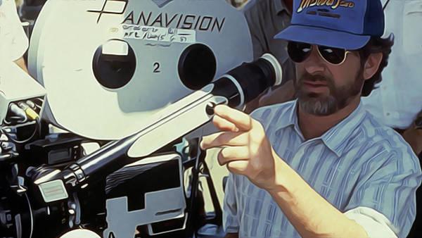 Steven Spielberg Painting - Steven Spielberg Art by Queso Espinosa